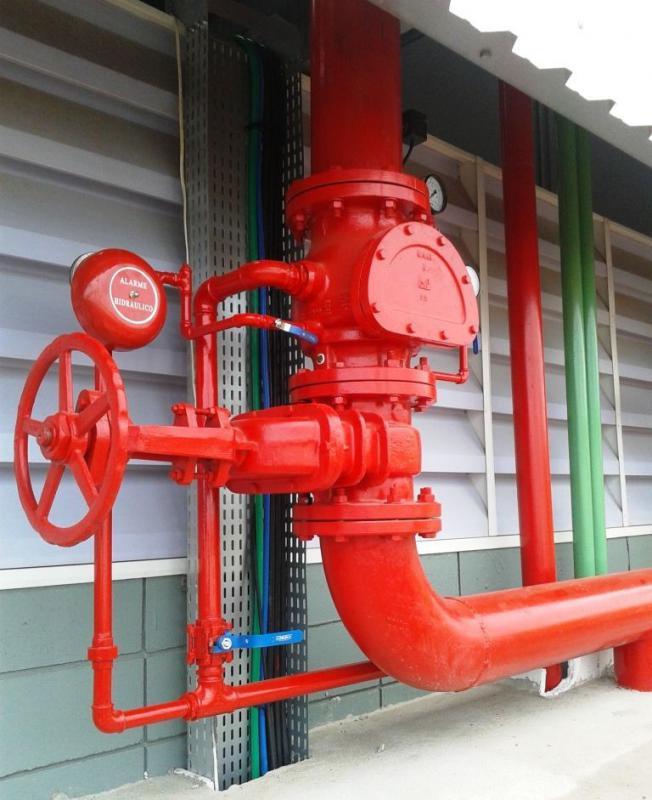 Empresa de prevenção contra incendio