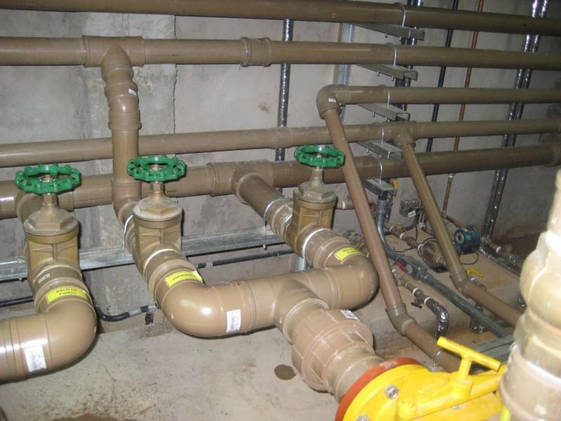 Execução de projeto hidráulico