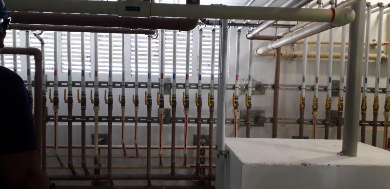 Instalações hidraulicas agua quente
