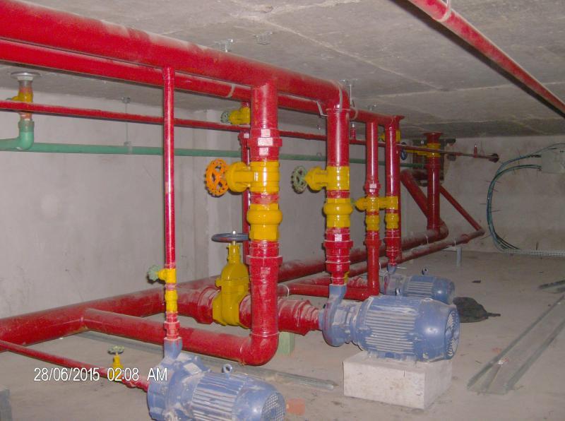 Instalações hidraulicas para incendio