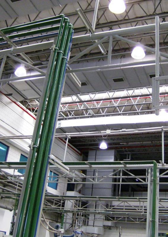 Instalações hidraulicas industriais