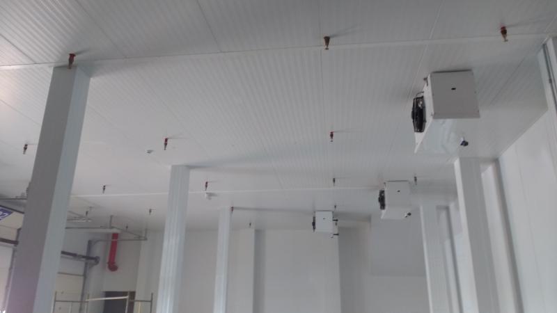 Instalações de sprinklers